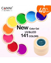 Gel laca 5ml 141 pure colors uv gel manicure diy francês