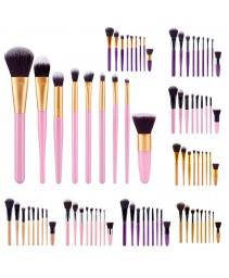 9 pcs makeup brushes set camuflagem sombra blush