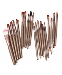 20pcs maquiagem brushes set pro pó blush foundation